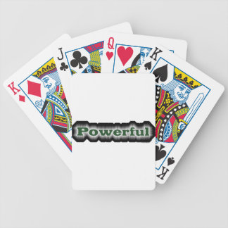 Powerful Bicycle Playing Cards