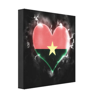 Powerful Burkina Faso Canvas Print