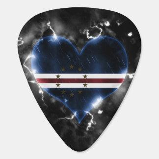 Powerful Cape Verde Guitar Pick