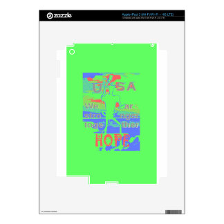 Powerful ECO USA Hillary Hope We Are Stronger Toge Skin For iPad 3