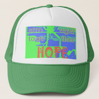Powerful ECO USA Hillary Hope We Are Stronger Toge Trucker Hat