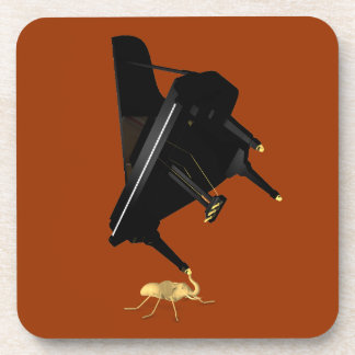 Powerful Eleph-Ant Beverage Coasters