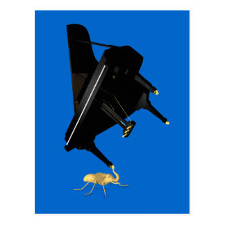 Powerful Eleph-Ant Postcard