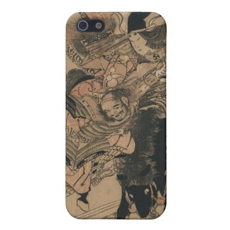 Powerful Female Samurai Defeating Male Samurai iPhone SE/5/5s Cover