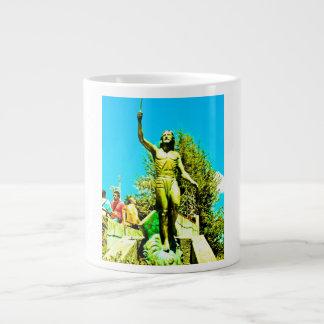 Powerful for God cares ill. Giant Coffee Mug