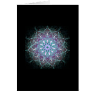 Powerful High Energy Mandala Greeting Card