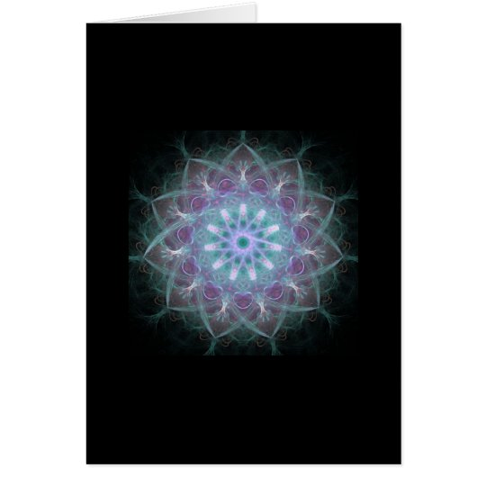 Powerful High Energy Mandala Card