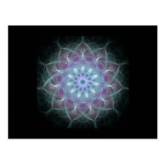 Powerful High Energy Mandala Post Card