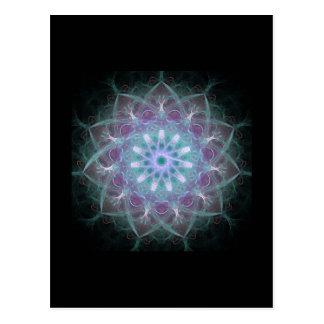 Powerful High Energy Mandala Postcard