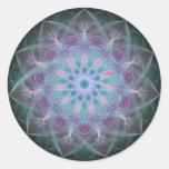 Powerful High Red Tone Energy Mandala Sticker