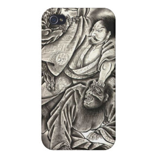 powerful japanese demon cover for iPhone 4