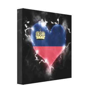 Powerful Liechtenstein Canvas Print
