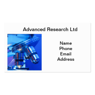 Powerful Microscope for Research and Science Double-Sided Standard Business Cards (Pack Of 100)