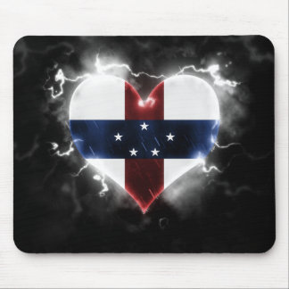 Powerful Netherlands Antilles Mouse Pad