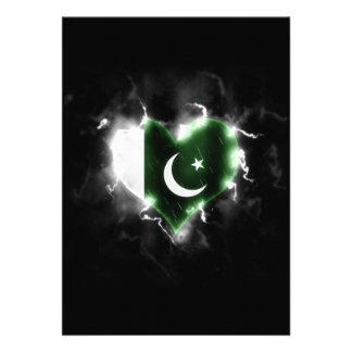 "Powerful Pakistan 5"" X 7"" Invitation Card"