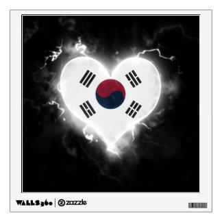 Powerful South Korea Wall Sticker