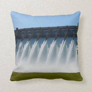 Powerful Table Rock Dam Throw Pillow