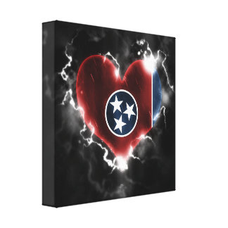 Powerful Tennessee Canvas Print