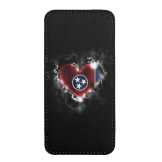 Powerful Tennessee iPhone 5 Pouch