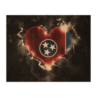 Powerful Tennessee Photo Cork Paper