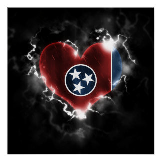 Powerful Tennessee Perfect Poster