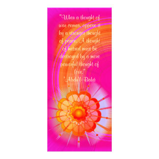 Powerful Thought  Ruhi quote Rack Card