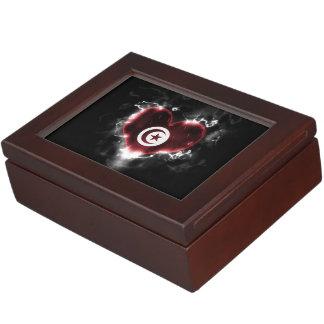 Powerful Tunisia Keepsake Box