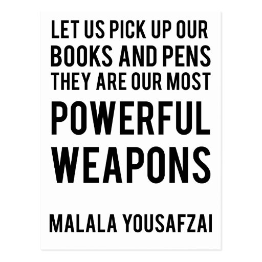 Powerful Weapons Postcard