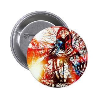 Powerful Wizard Pinback Button