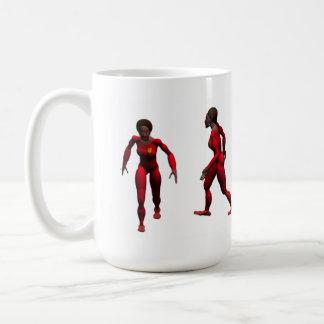 Powerful woman classic white coffee mug