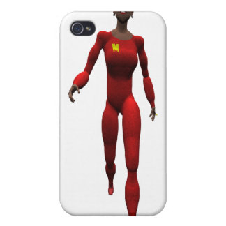 Powerful woman iPhone 4/4S cases