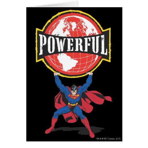 Powerful World Superman Cards