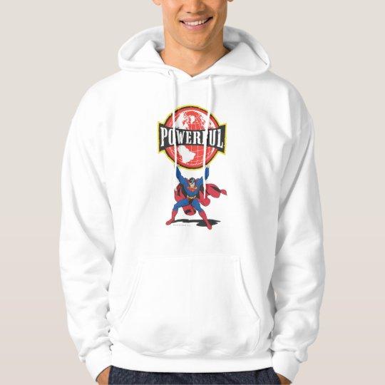 Powerful World Superman Hoodie