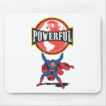 Powerful World Superman Mouse Pads