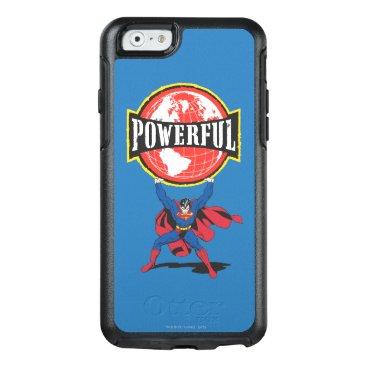 Powerful World Superman OtterBox iPhone 6/6s Case