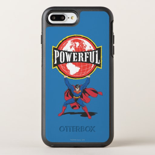 Powerful World Superman OtterBox Symmetry iPhone 8 Plus/7 Plus Case