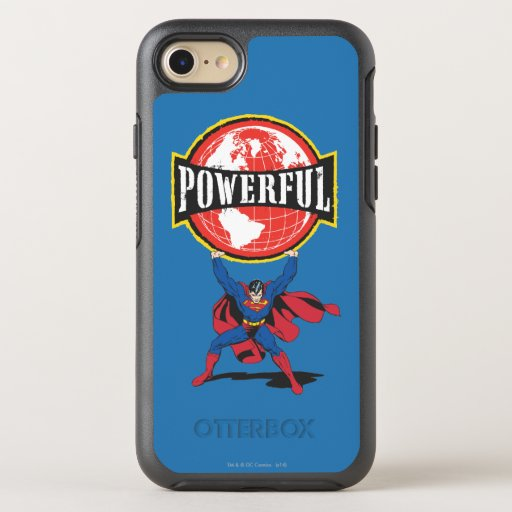 Powerful World Superman OtterBox Symmetry iPhone 8/7 Case