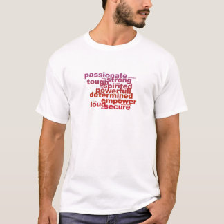 Powerfull letters T-Shirt