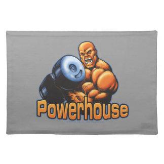 Powerhouse Curl Placemats
