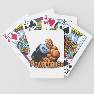 Powerhouse Curl Bicycle Playing Cards
