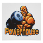 Powerhouse Curl Poster