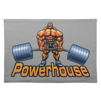 Powerhouse Deadlift Placemats