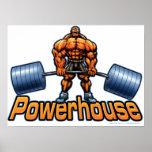 Powerhouse Deadlift Poster