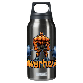 Powerhouse Deadlift Thermos Bottle