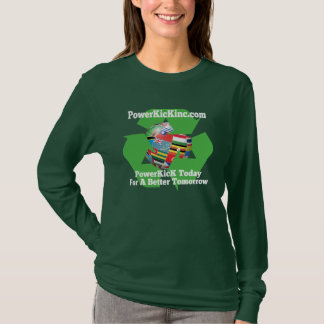 PowerKicK Recycle Long Sleeve T-shirt