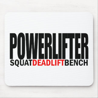 POWERLIFTER GEAR MOUSE PAD