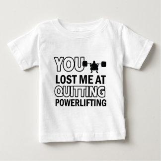 Powerlifting designs baby T-Shirt