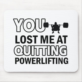 Powerlifting designs mouse pad