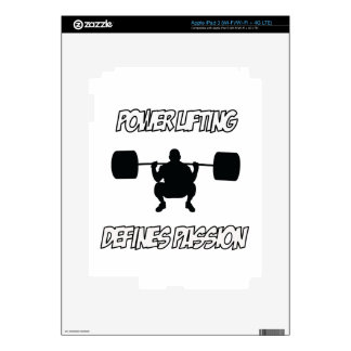 POWERLIFTING designs Decal For iPad 3
