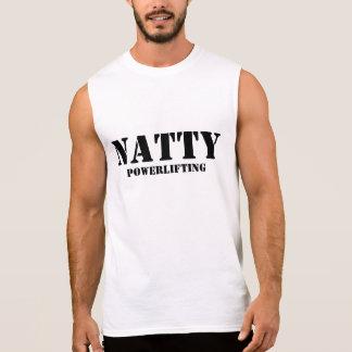 Powerlifting elegante camiseta sin mangas